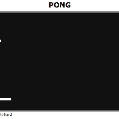 Classical Pong